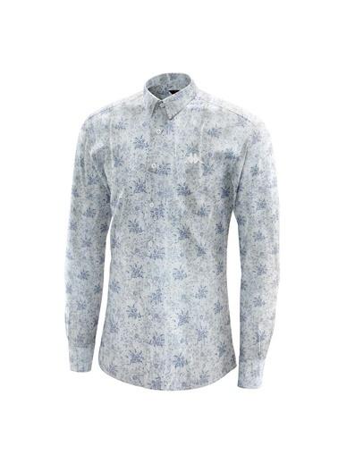 Robe di Kappa Rdk Gömlek Ferro - Beyaz
